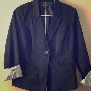 Metaphor black dress/work blazer